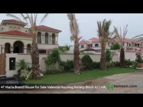 47 MARLA HOUSE IN VALENCIA HOUSING SOCIETY LAHORE IS AVAILABLE FOR SALE