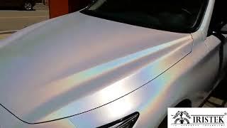 IRISTEK Holographic Vinyl Wrap Self Adhesive Holographic Vinyl Car Wrap Suppliers
