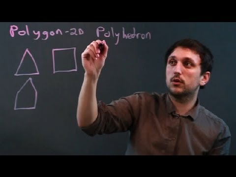 The Difference Between a Polyhedron & a Polygon : Math Questions