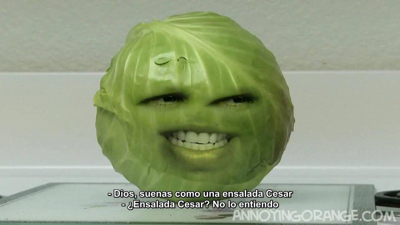 LA NARANJA MOLESTA Excess Cabbage - YouTube