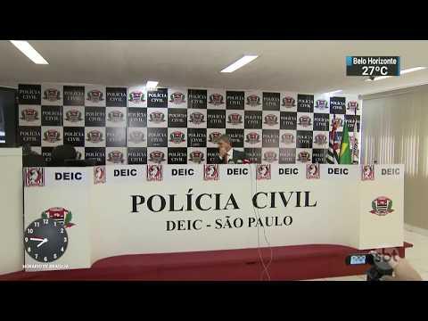 Preso homem responsável por tráfico de maconha de organização criminosa | SBT Brasil (13/11/17)
