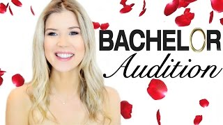 MY BACHELOR AUDITION TAPE