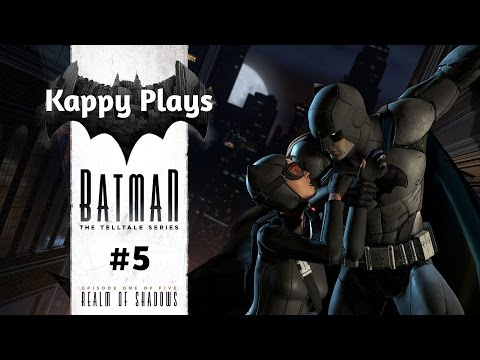 "Kappy Plays Batman: Telltale Series - Episode #1 - REALM OF SHADOWS - WORLD""S GREATEST DETECTIVE!"