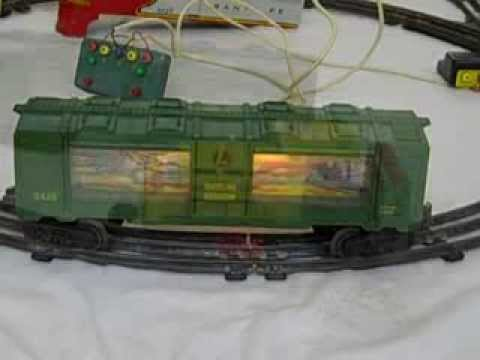 lionel train set post wwii