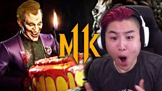 Mortal Kombat 11 - Joker Gameplay Trailer!! [REACTION]