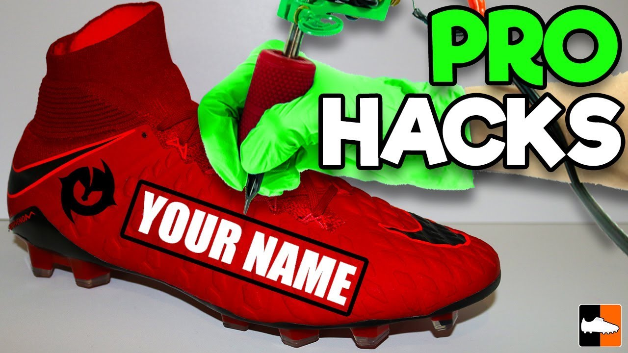 52260500327b How To Personalise Your Boots LIKE A PRO! Football Boots