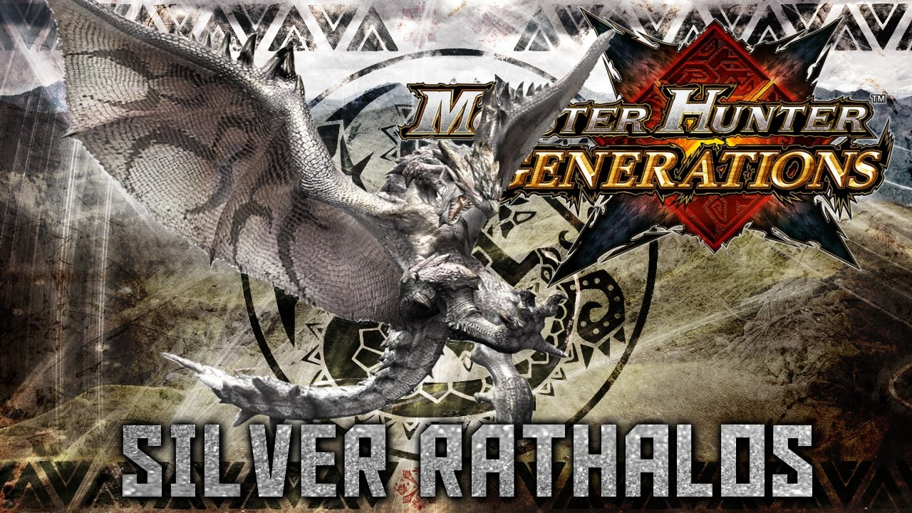 Monster Hunter Generations: Silver Rathalos - YouTube Gold Rathian And Silver Rathalos