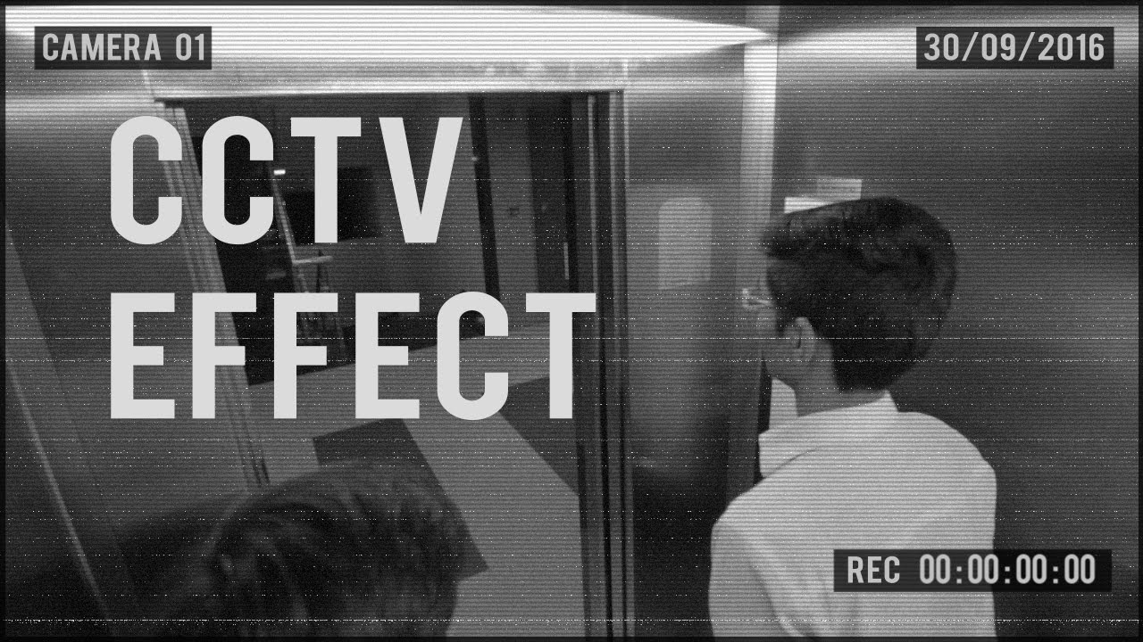 Creating CCTV Effect In Adobe After Effects (Part1/Free