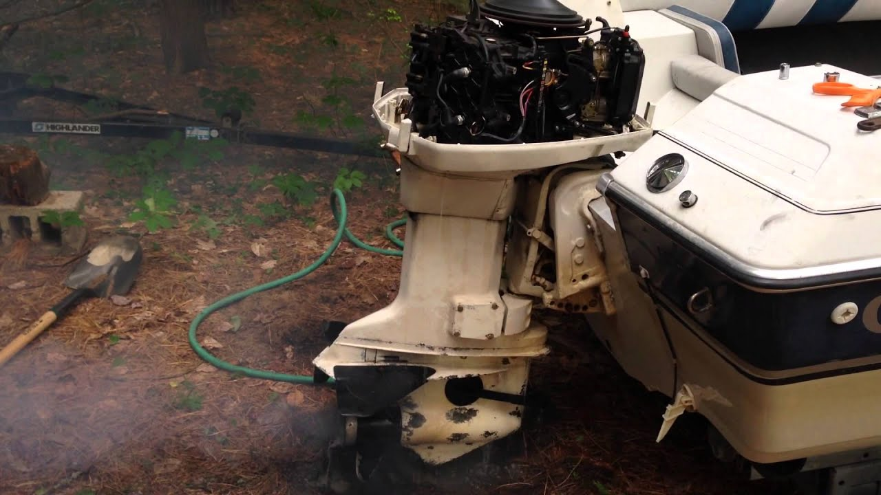 1988 Johnson Outboard 88hp Sputtering/Coughing at Idle