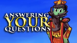 Runescape - Answering your questions (20K Sub special)