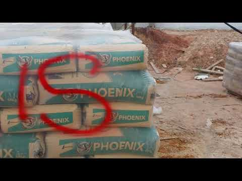 Cement made in Malaysia