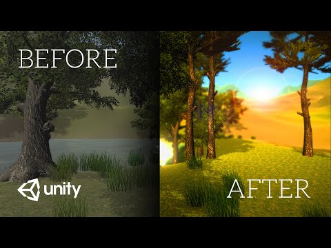 Your game 100x prettier in 10 seconds (Unity Image Effects Tutorial) thumbnail