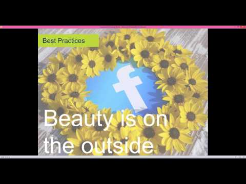NU Social Media Series:  Best Practices for Facebook Posting