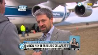 Visión 7 - Lanzamiento del satélite ARSAT-1, en vivo por la TV Pública (1 de 3)