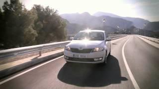 Skoda Rapid trailer