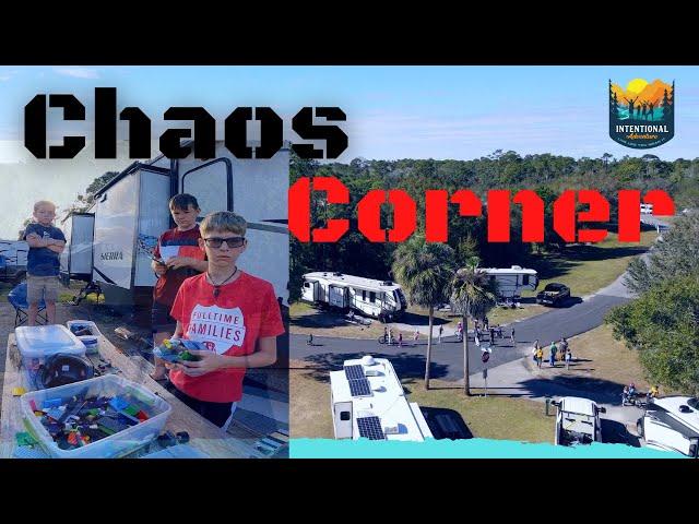 Chaos Corner | Crazy RV Kids | Life in the RV