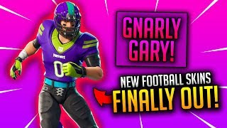 🔴 New Football Skins Gameplay! Fortnite: Battle Royale - Good Console Player!