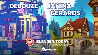 Let's dive into the world of non-photorealistic rendering! janina gerards and dedouze (author blender 2.82 splash!) will share techniques behind their...