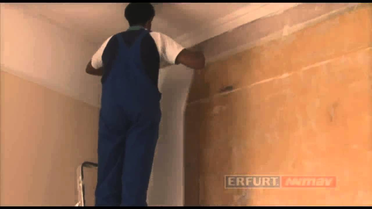 Installing Wallrock Thermal Liner - Insulating Wallpaper - YouTube