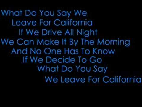 Metro Station California Lyrics