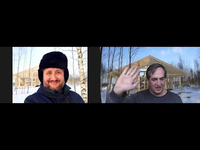 Вести со стройки, беседа с Виктором, автором каркасно-фахверкового Парус дома.