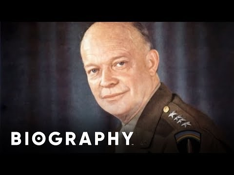 Dwight D. Eisenhower - 34th U.S. President & Commander of Al