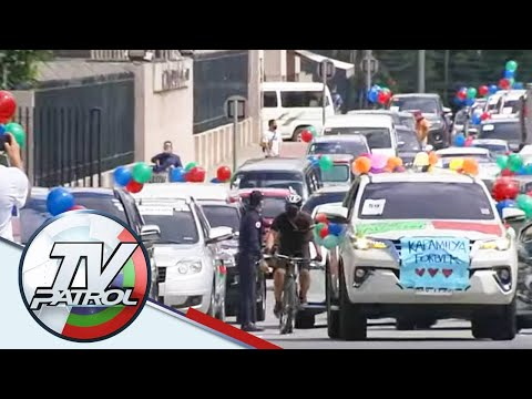 ABS-CBN workers, supporters nag-caravan para sa prangkisa ng network | TV Patrol