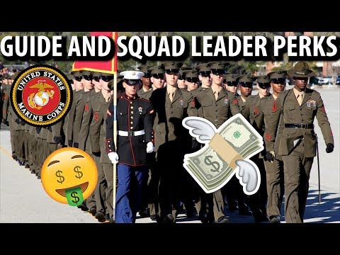 Be a Guide or Squad Leader In US Marine Boot Camp