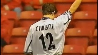 Middlesbrough v Derby County 1999-00 CHRISTIE GOAL