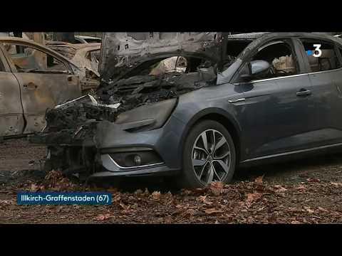 Illkirch-Graffenstaden : 42 Véhicules Brûlés Au Garage Renault