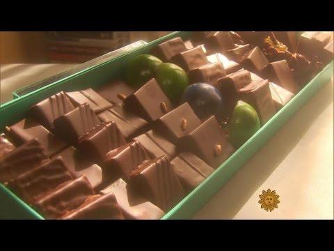 Inside Patrick Roger's chocolate workshop