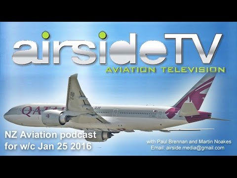 NZ Aviation Podcast w/c January 25 2016