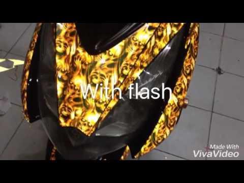 M Reflectorized Decals By Cyrus Grafix Skydrive Skull Concept - Mio decalscyrus grafix decals youtube