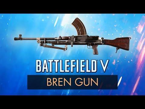 BREN GUN REVIEW ~ BF5 Best Gun Specs, Stats + Tips | Battlefield 5 Weapon Guide (BFV) thumbnail