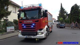 [Doppel-Scania + 4-Fach Frontblitzer] Verkehrsunfall mit eingeklemmter Person in Rodgau
