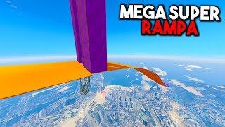 MEGA SUPER RAMPA GIGANTE! - CARRERA GTA V ONLINE - GTA 5 ONLINE