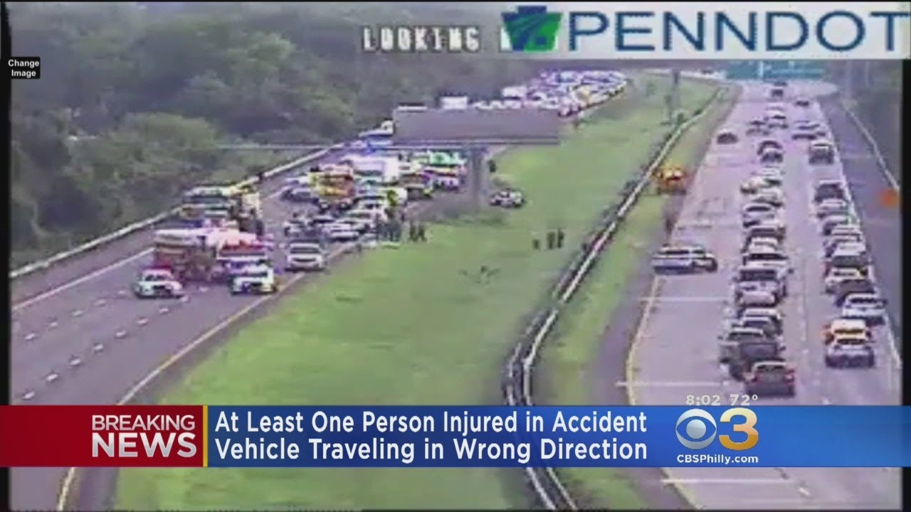 At Least One Injured In Car Accident On I-95 Southbound