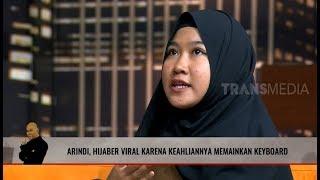 Arindi Putry, Hijaber Viral Jago Keyboard  | HITAM PUTIH (02/10/19) Part 5