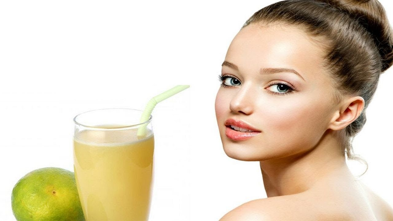 sweet lime juice mosambi juice for glowing skin, hair and