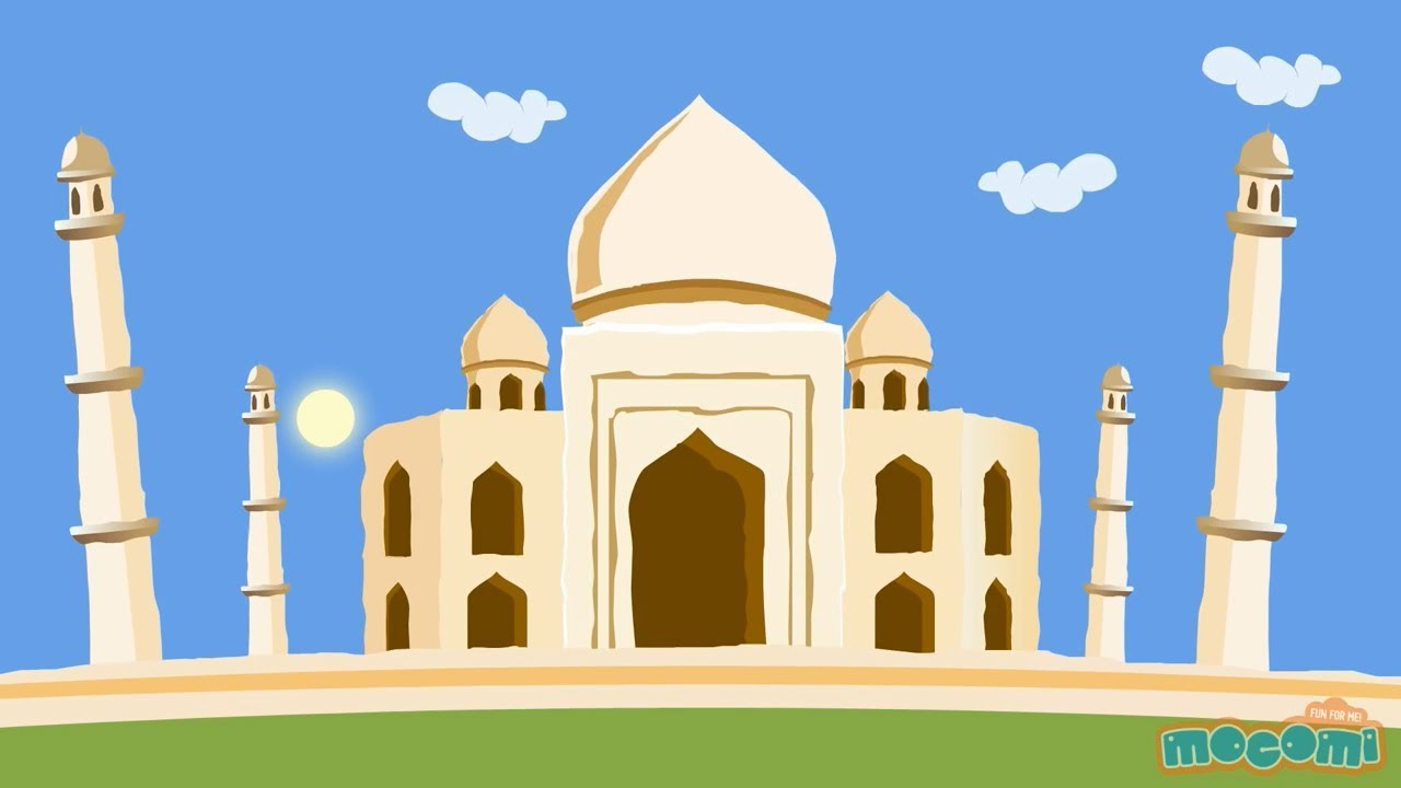 Taj Mahal History And Architecture Fun Fact For Kids
