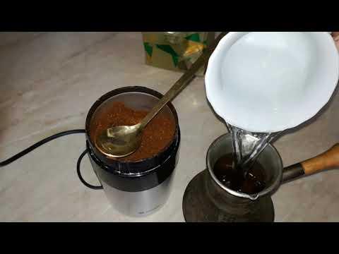 Очень вкусный утренний кофе.  Как сварить кофе в турке. Простой способ.