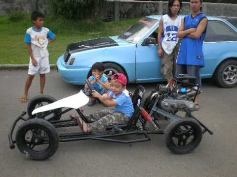Home Made Go Kart From Montalban Rizal Phillippines Youtube