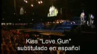Kiss Love Gun subtitulos en español
