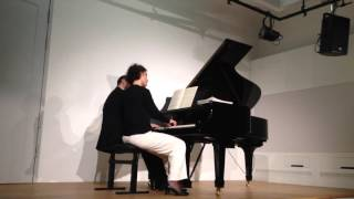 FIN CONCERT REGENSBURG 21/02/2016 PIANO DUO CHRISTINE ET STEPHAN RAHN