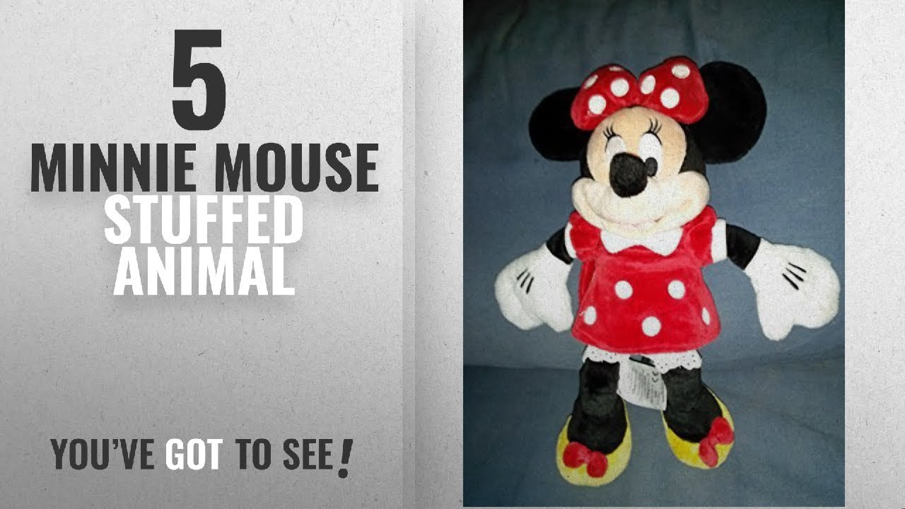 f18cc3cd50f Top 10 Minnie Mouse Stuffed Animal  2018   Disney s Minnie Mouse ...