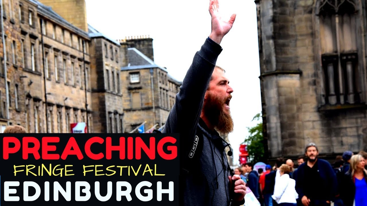 Street preaching saves a man from suicide in Edinburgh, Scotland