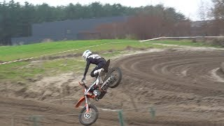 Glen Goldenhoff raw practice and horror crash from Lommel