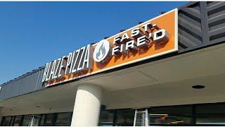 Blaze Fast-Fire'd Pizza food review