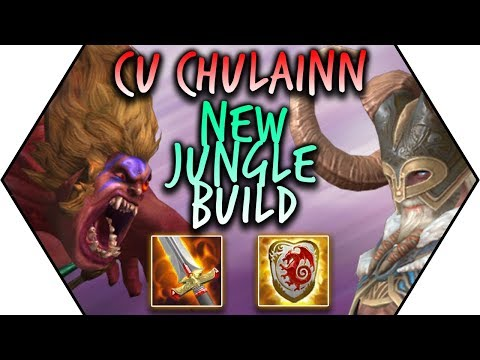 "New Build Good Enough To Counter ""THE MOST BROKEN"" God In The Game?! SMITE Cu Chulainn Gameplay"