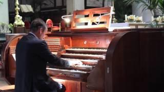 Gent, Gezinus Veldman op orgel